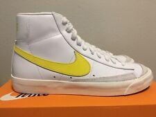 Nike Blazer Mid '77 Vintage Opti Yellow White Bq6806-101 Men's Size 10