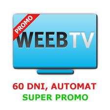 WEEB.TV 60 dni kod PREMIUM, 7% TANIEJ! AUTOMAT 24/7, SZYBKO I BEZPIECZNIE