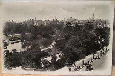 Irish RPPC Postcard ST STEPHENS GREEN DUBLIN Ireland 1914 Real Photo Lawrence