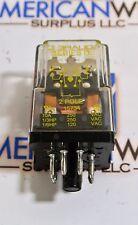 Square D Ice Cube Relay 8501 KP12V14 ser D  DPDT  24V