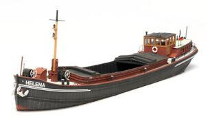Artitec-387-341-Rheinkahn-150-Tonnen-Helena-H0-1-87-Fertigmodell-Resin-Schiff