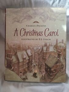 A-Christmas-Carol-Holiday-Classics-Illustrated-by-P-j-Lynch-Dickens-Charle