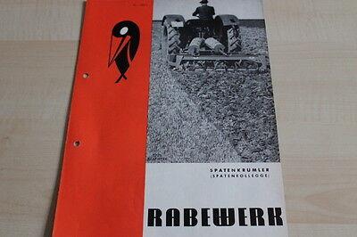 Rabewerk Spatenkrümler Spatenrollegge Prospekt 01/1971 Attractive Appearance Ebay Motors Modest 144122 Parts & Accessories