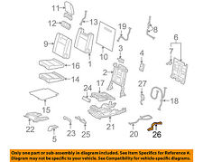 TOYOTA Genuine 71694-60020-C0 Seat Cushion Hinge Cover