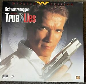 USED TRUE LIES Arnold Schwarzenegger THX 2-LDisc FOX 8640-85 Laserdisc