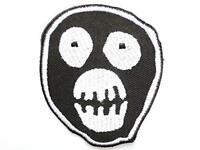 The Mighty Boosh Mask Logo Iron On Sew On Embroidered Patch Approx: 2.4/6cm X A