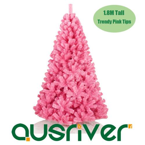 1.8M 6FT Trendy Pink Christmas Tree Painted Metal Frame PVC Tips Jupiter PNK180