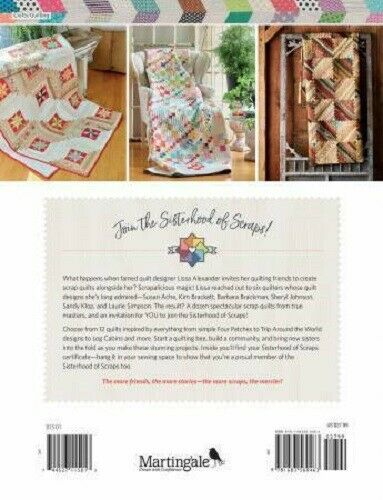 SISTERHOOD OF SCRAPS Lissa Alexander Quilting Pattern Book