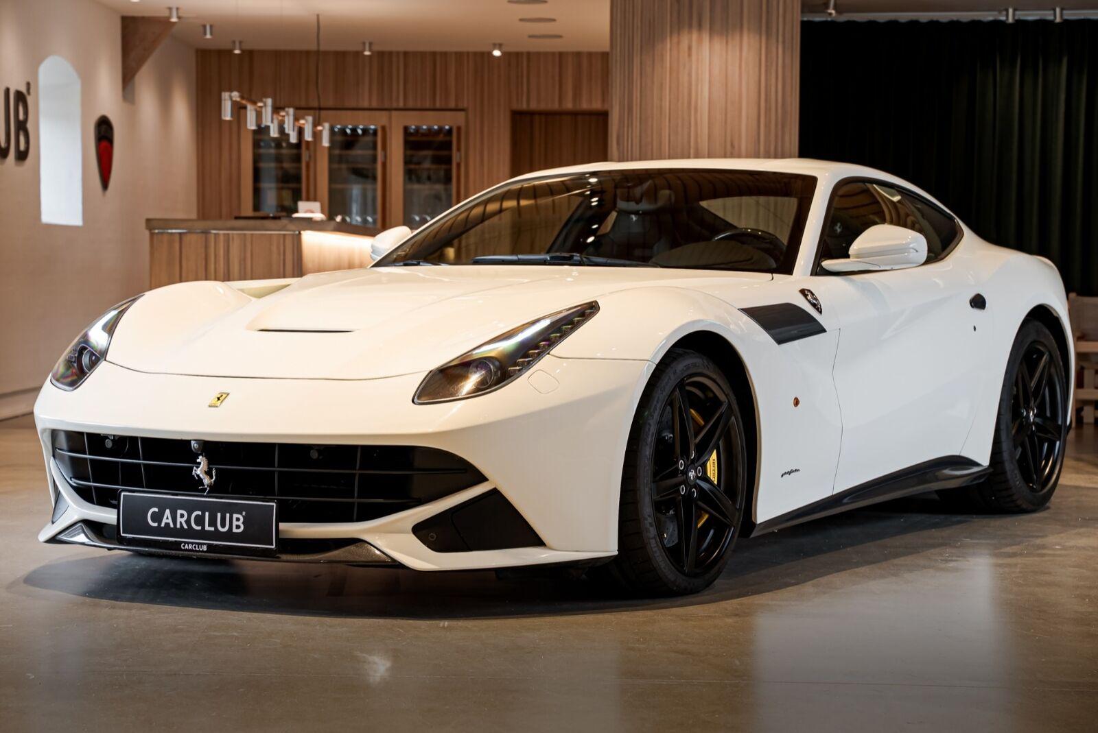 Ferrari F12berlinetta 6,3  2d - 0 kr.