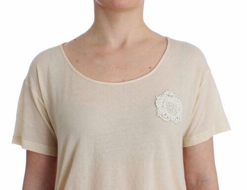Maxi S T S Top Ermanno Beige it42 Bianco Camicetta Scervino Usa shirt Nuovo wqxEz0Y77
