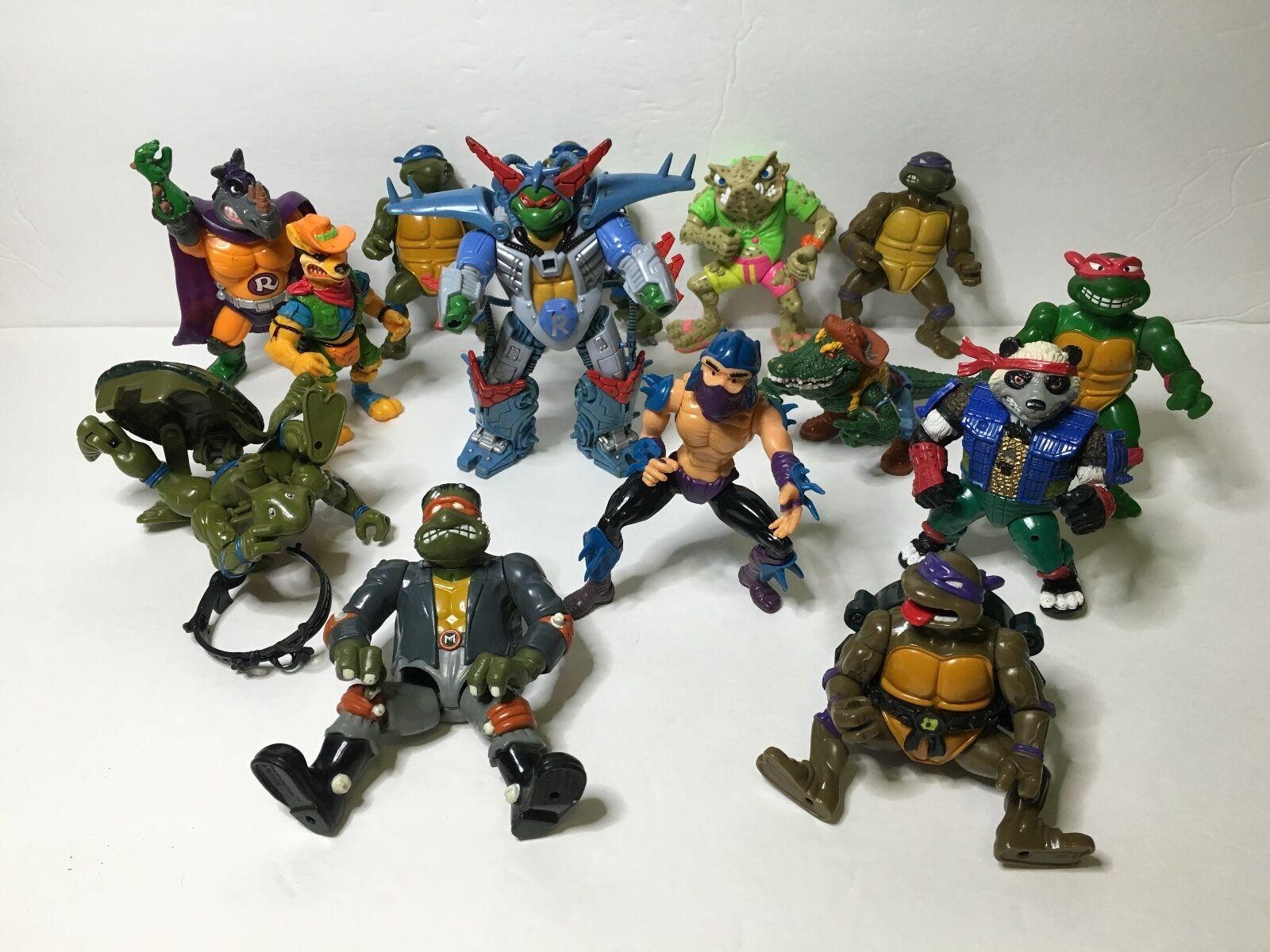 Viele alte teenage mutant ninja turtles tmnt spielkameraden 1990 zahl