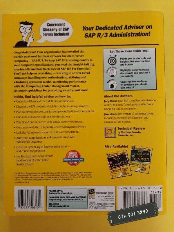SAP R/3 Administration For Dummies - Joey Hirao, Jim Meade