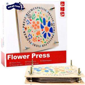RéAliste Large En Bois Contreplaqué Fleur Press & Écrous Papillon Craft Fun Enfants Cadeau Activité-afficher Le Titre D'origine Acheter Un En Obtenir Un Gratuitement