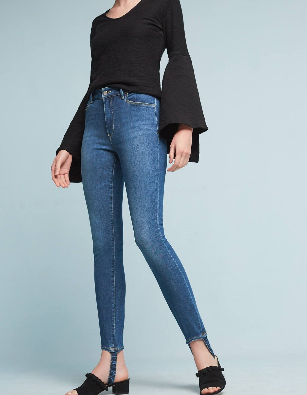 Pilcro Stirrup High-Rise Skinny Jeans Pants Size 30, 31 NW ANTHROPOLOGIE Tag