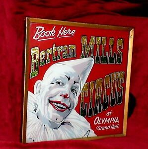 1920-039-s-Bertram-Mills-Circus-glass-painted-sign
