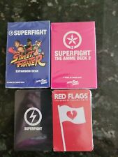SUPERFIGHT Street Fighter Card Game Expansion Deck /& Anime Deck 2