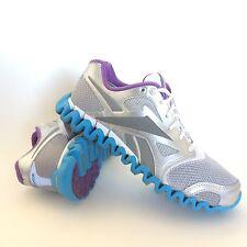 Reebok Zignano Fly 2 Womens Running Shoes Size 9 EUR 40 UK 6.5 Silver Purple