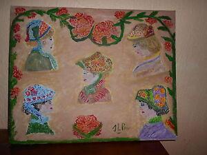 tableau peinture acrylique la belle époque - France - EBay la belle époque peinture sur toile 50x40cmfrais de port uniquement pour la France pour l étranger me contacter - France