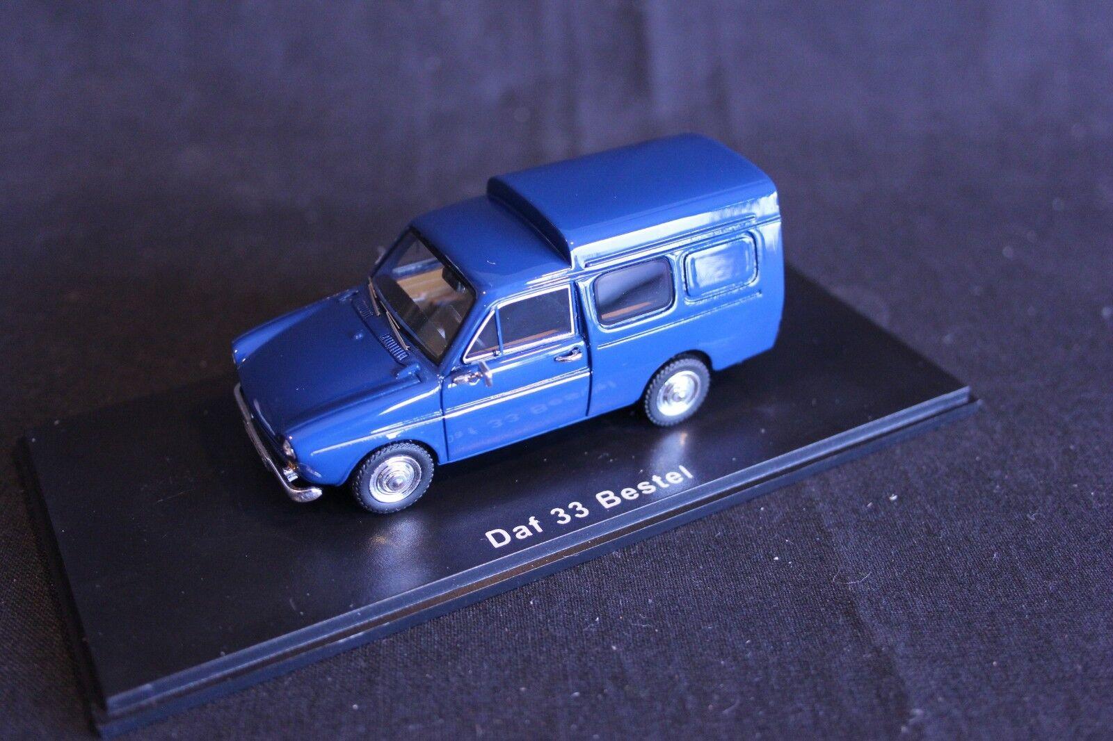 QSP Model Collection DAF 33 Bestel 1 43 bleu