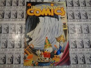 Walt-Disney-039-s-Comics-and-Stories-1940-Gladstone-607-Donald-amp-Mickey-VF
