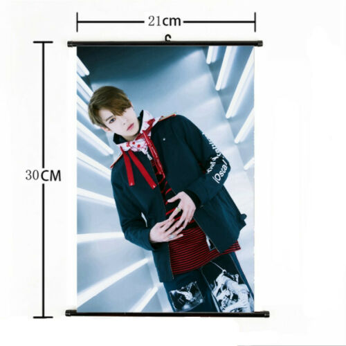 Kpop NCT 127 Hang Up Poster We Are Superman Mini Wall Scroll Picture Home Decor