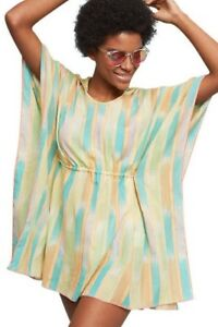 73f7a8c20b1f Image is loading NWT-Anthropologie-Lilka-Pastel-Yarn-Dyed-Striped-Hooded-