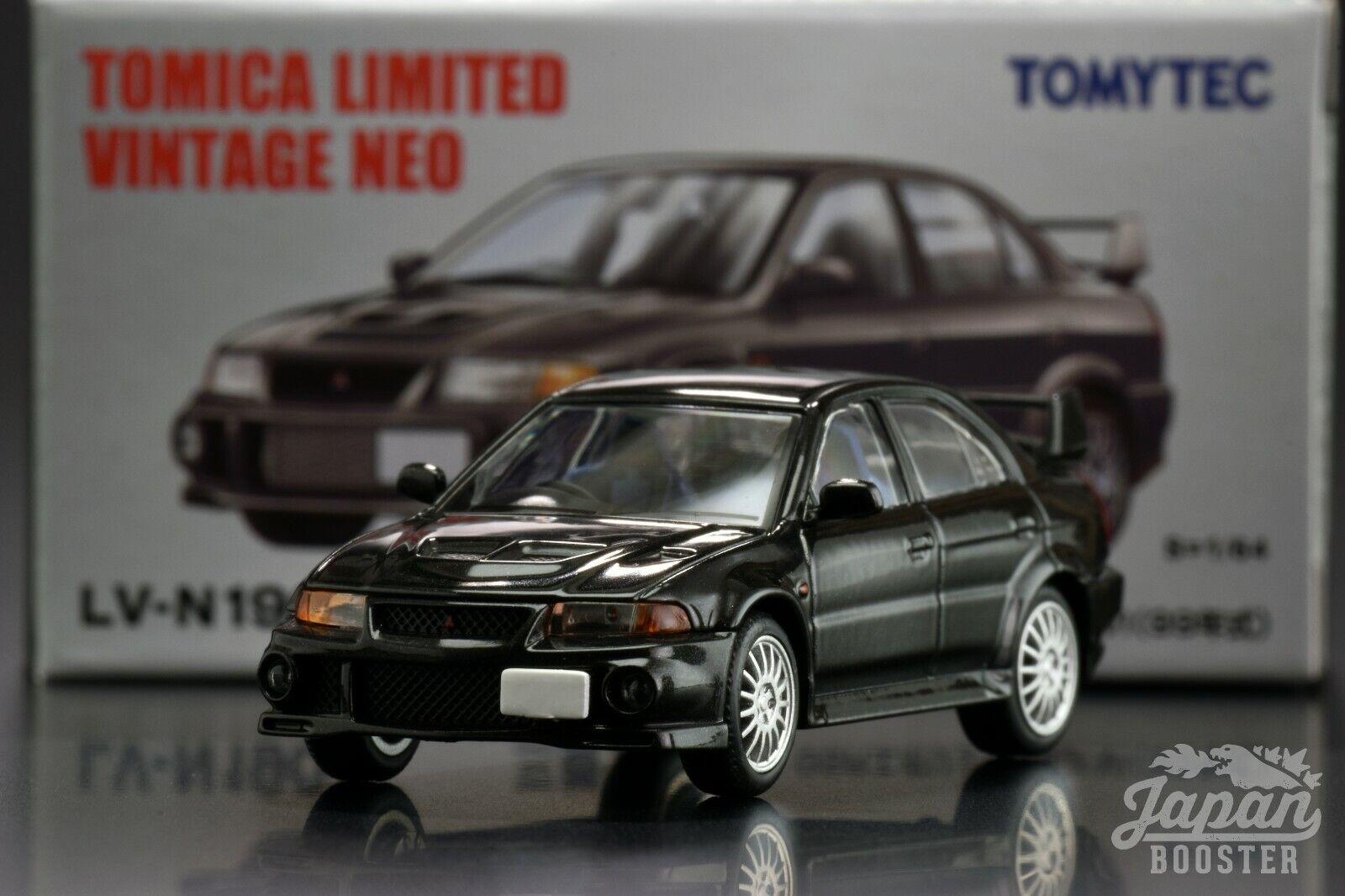 Tomica Limitierte Vintage Neo LV-N190b 1//64 Mitsubishi Lancer GSR Evolution 6