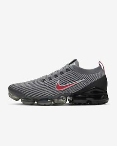 Nike-Air-Max-Vapormax-Flyknit-3-PARTICLE-GREY-RED-BLACK-AJ6900-012-Running-Gym