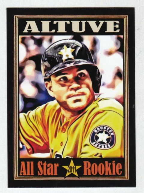 Jose Altuve Houston Astros All Star Rookie, King Card Co. serial #/200 🔥