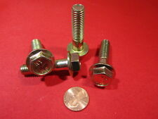 8.8 Zinc Plated Metric M10 x 1.5 x 180 mm Length Cap Screw Bolt PT 5 Pc