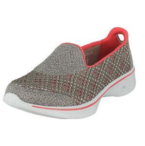 Women s Skechers GOwalk 4 Kindle Slip on Walking Shoe 10 M Taupe ... e78b50ad77