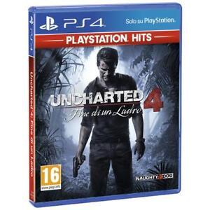 SONY PS4 - Uncharted 4: Fine di un Ladro (PS Hits)