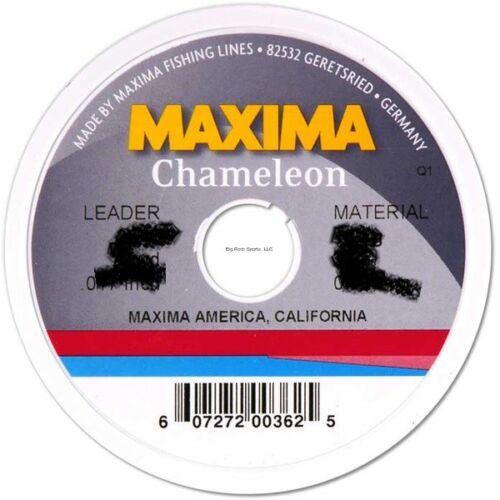 NEW Maxima Chameleon Mono Line Leader Wheel 6Lb 27Yds MLC-6