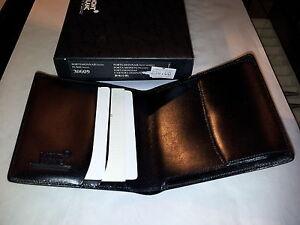 scarpe di separazione goditi la spedizione in omaggio comprare in vendita Details about PORTAFOGLIO PORTAMONETE WALLET PURSE COIN MONTBLANC MONT  BLANC BLACK B