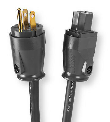 SUPRA LoRad SPC Power Cable 2-meter HI FI CHOICE 5-STAR RATED made in Sweden !