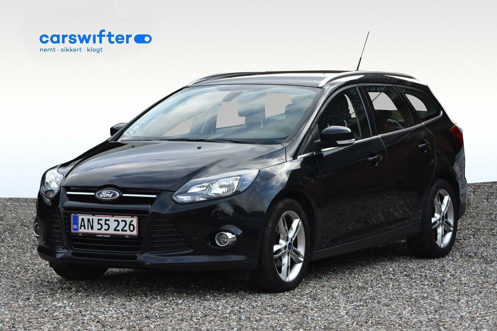 Ford Focus 1,0 SCTi 125 Titanium stc. ECO 5d - 129.900 kr.