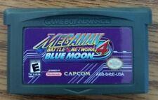 Mega Man Battle Network 4: Blue Moon (Nintendo Game Boy Advance) GBA