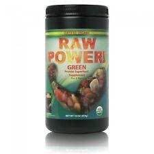 Raw Power Protein Superfood Blend Green 16oz, Certified Organic, 100% Raw, Vegan