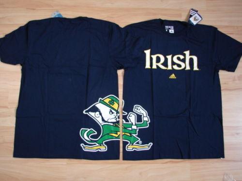 NCAA College T-shirt FOLLETTO Notre Dame Fightin /'Fighting Irish-NUOVO GC