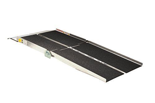 8-ft x 30-in Portable Multifold Reach Wheelchair Ramp 800 lb. Weight Capacity, M