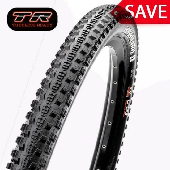 Maxxis Crossmark II Mountain Bike MTB Tyre 27.5  x 2.25  Tubeless TR EXO Folding