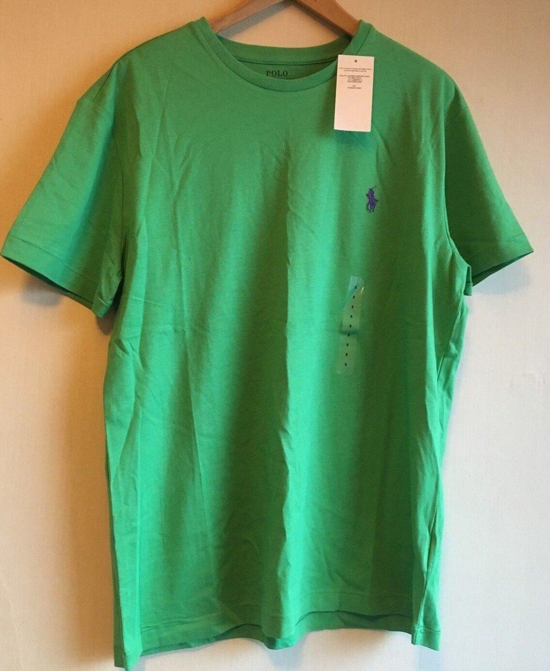 2bf16fe0ca80 BNWT New Ralph Lauren Polo Standard Short Sleeve T-Shirt - - Small Green  Size nnmpsc3972-T-Shirts