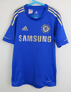 detailed look f9ddf 329d1 Details about Adidas Chelsea Football Shirt Soccer Jersey 2012-13 Kids  Youth 13-14 Boys Large
