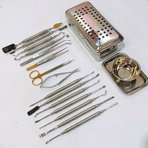 Dental-PRF-Box-GRF-System-Membrane-Set-Periosteal-Elevator-Kit-Implant-Tools