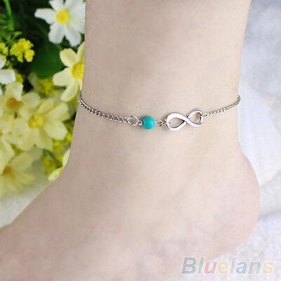 Boho Style Bead Charm Ankle Chain Anklet Bracelet Beach Sandal Barefoot Jewelry