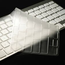 Not for New Magic Keyboard CLEAR Silicone  Skin for APPLE Wireless Keyboard