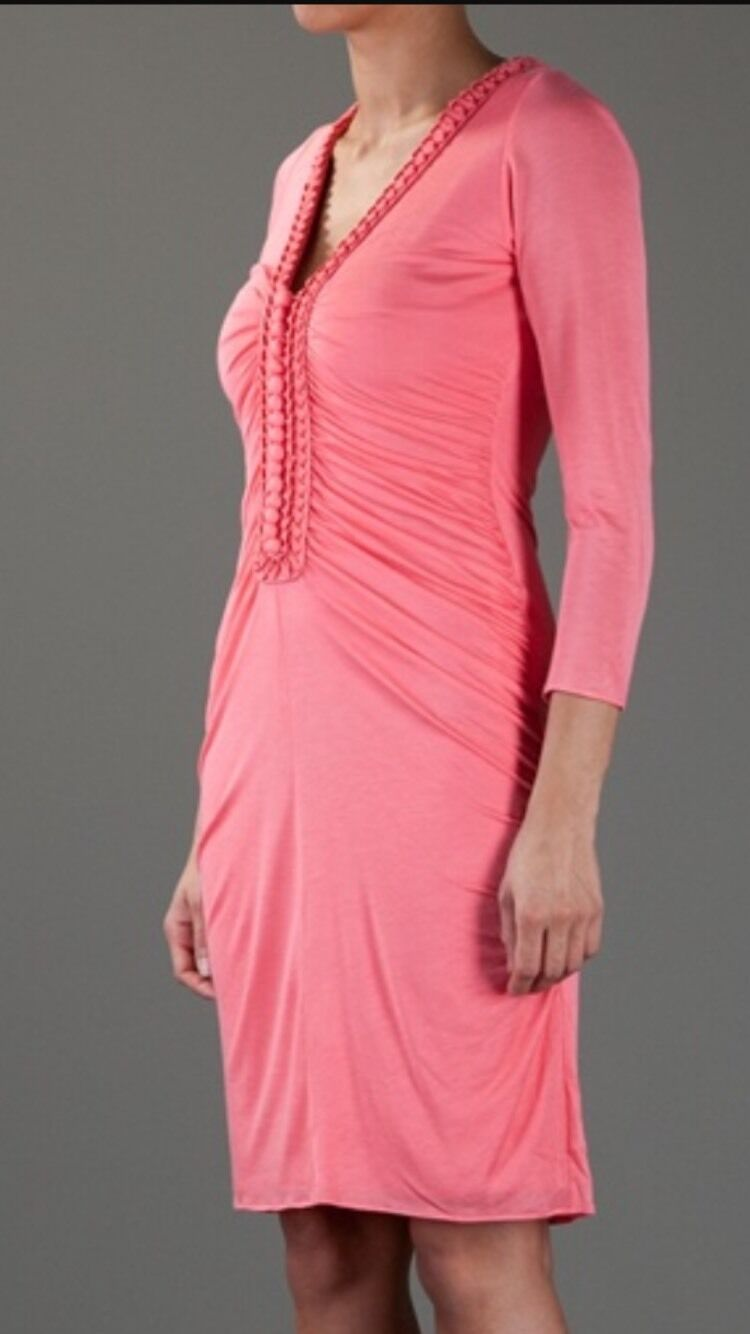 Sleeved Dhana Dress Alice By Temperley Coral Size 16, BNWT