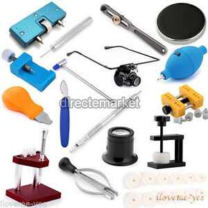 Watch-Band-Link-Pin-Remover-Case-Cover-Opener-Holder-Watchmaker-Repair-Kit-Tools