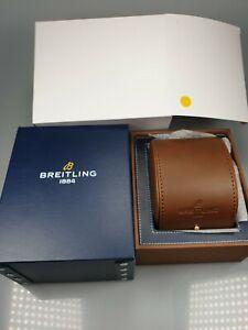 *original* *neu* Breitling Uhren Box Holz + Umkarton SchöN Und Charmant