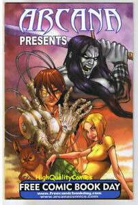 ARCANA-PRESENTS-NM-Gwai-Burn-Kade-100-Girls-2008-FCBD